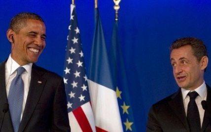 Обама побажав дочці Саркозі бути схожою на маму, а не на батька