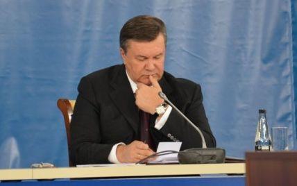 """Wikileaks: Янукович розповів, як """"люди у чорному"""" вдарили прикладом його дружину"""
