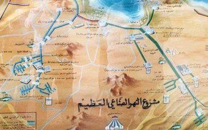 """Каддафі могли вбити через """"Восьме диво світу"""""""