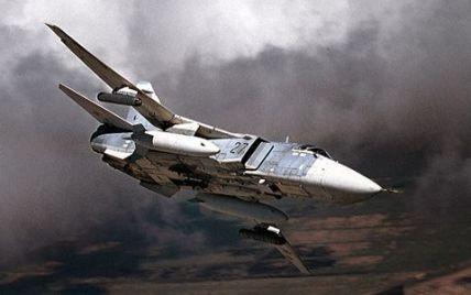 Під час посадки в Росії згорів бомбардувальник Су-24