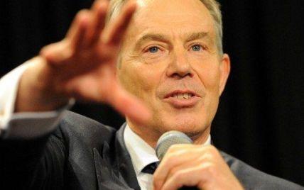 Блер передрікає катастрофу в разі відмови від євро