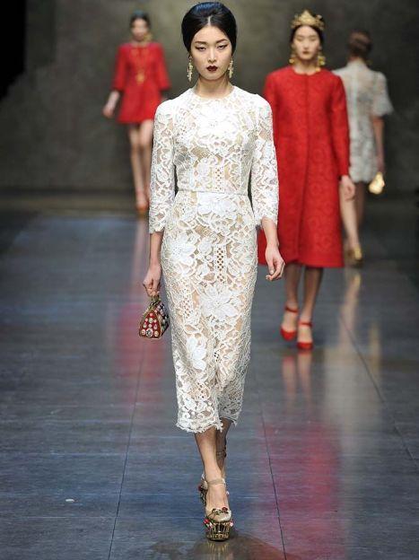 Dolce&Gabbana прет-а-порте сезона осень-зима 2013-2014 / © East News
