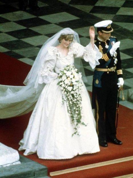 Принцесса Диана и принц Чарльз, свадьба, 1981 год / © East News