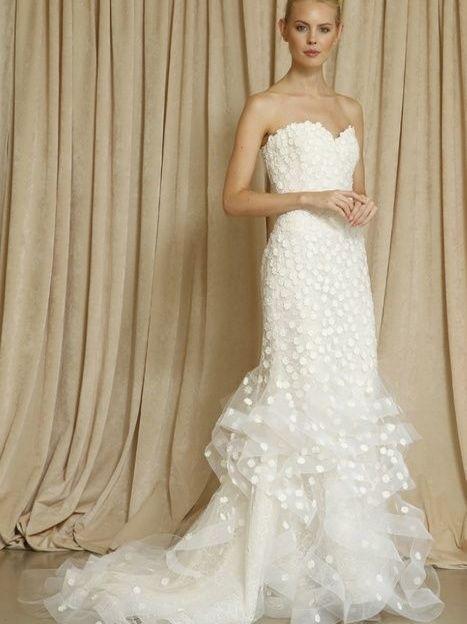 Осенняя свадебная коллекция Oscar de la Renta сезона 2014 / ©