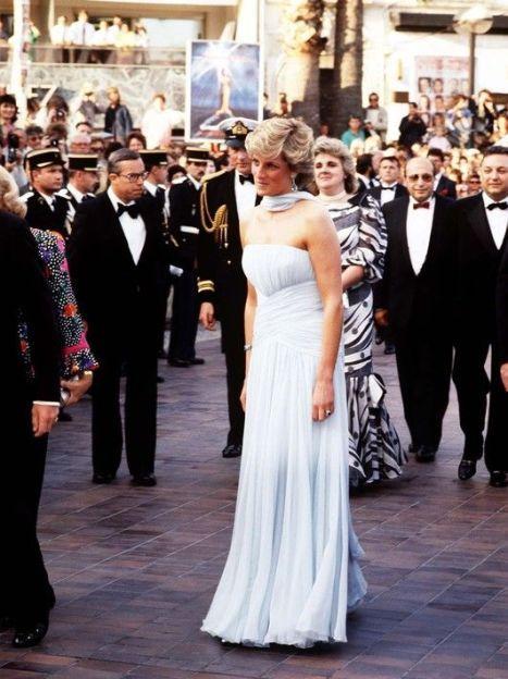 Леди Диана в Каннах, 1987 год / © East News
