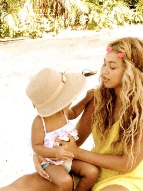 Бейонсе с дочерью Блу Айви / © East News