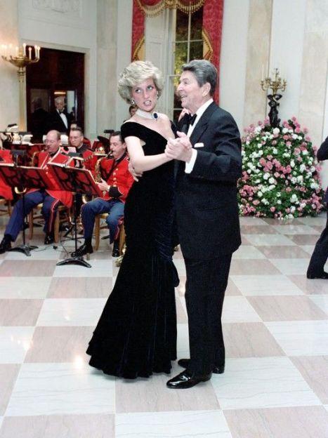 Принцесса Диана и 40-й президент США Рональд Рейган / © East News