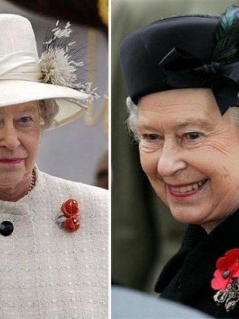 И если в выборе цвета королева Британии проявляет определенную смелость, то по фасону она гораздо более консервативна. (AFP) / ©