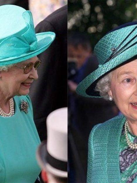 И если в выборе цвета королева Британии проявляет определенную смелость, то по фасону она гораздо более консервативна (AFP) / ©