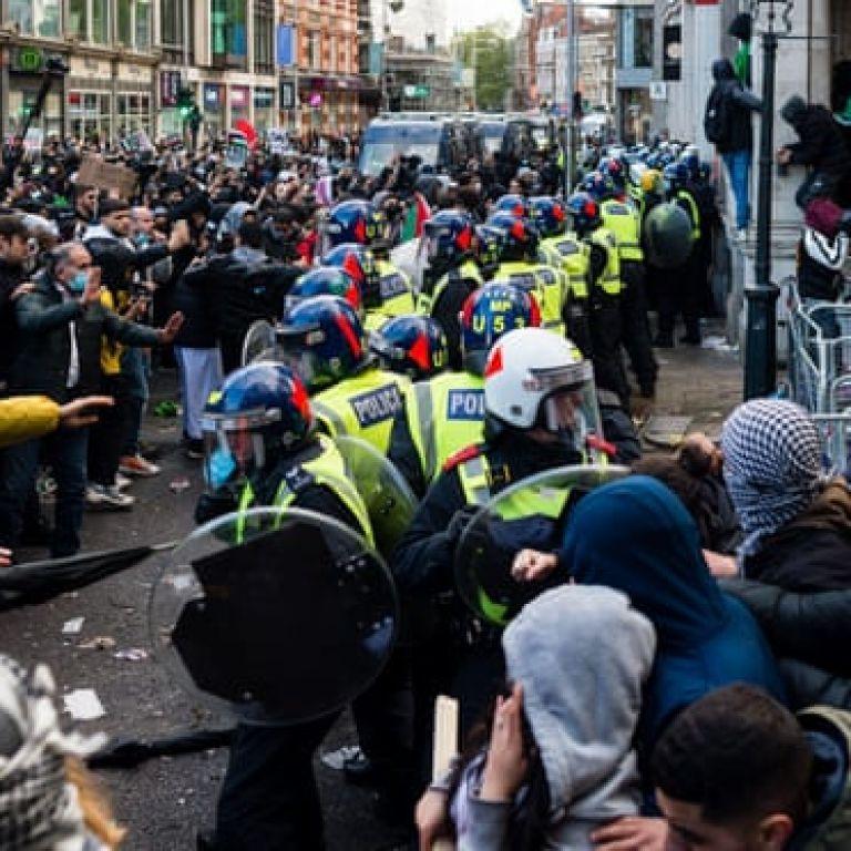 У Лондоні під час акції на підтримку Палестини було поранено 9 поліцейських
