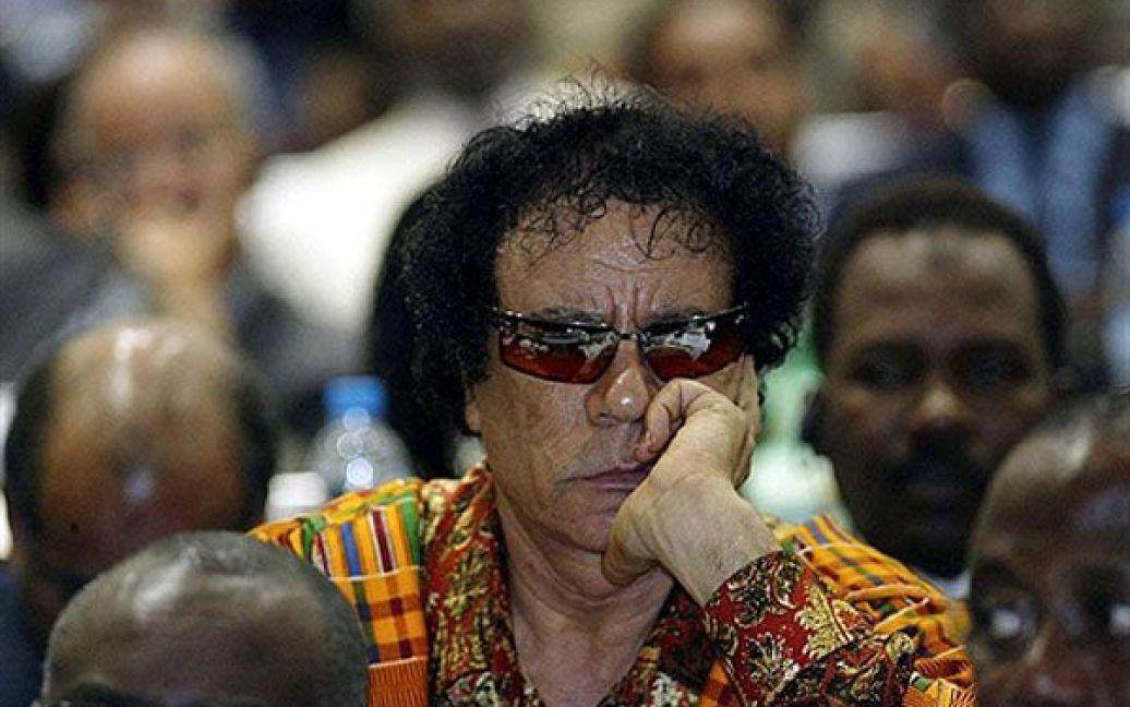 Муаммар Каддафі. Архівні фото / © AFP