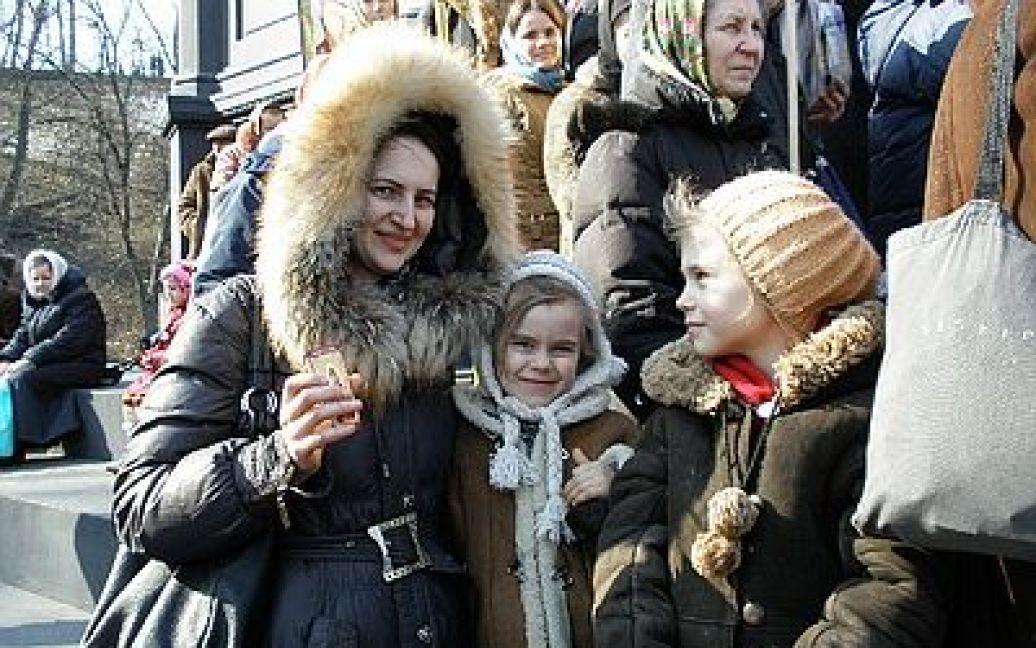 Московський патріархат пройшовся Києвом під імперськими прапорами / © Новый Регион