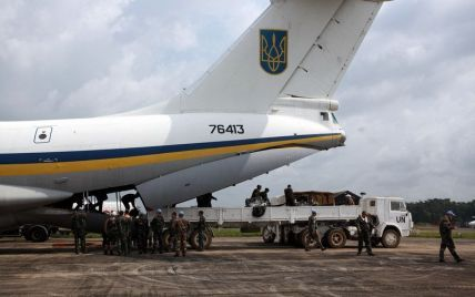 В Луганске террористы сбили Ил-76 с украинскими десантниками - источник