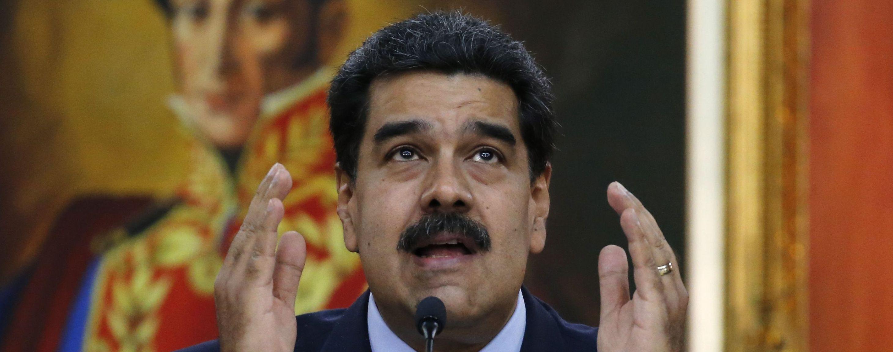 Мадуро заявив про придушення спроби державного перевороту у Венесуелі