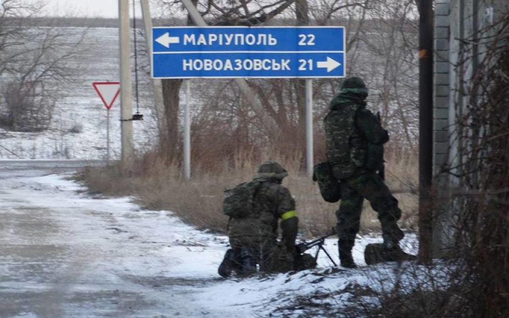 """""""Азов"""" шокував бойовиків своїм раптовим наступом. / © facebook.com/azov.batalion"""