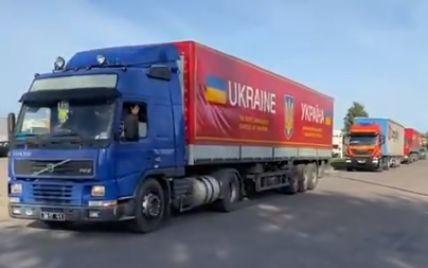 Украина доставила Литве последнюю партию гуманитарной помощи для укрепления границы с Беларусью