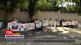 Новини України: шанувальники збірної з художньої гімнастики провели дівчат на змагання до Токіо