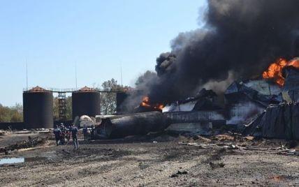 Директору сгоревшей под Васильковом нефтебазы присудили домашний арест