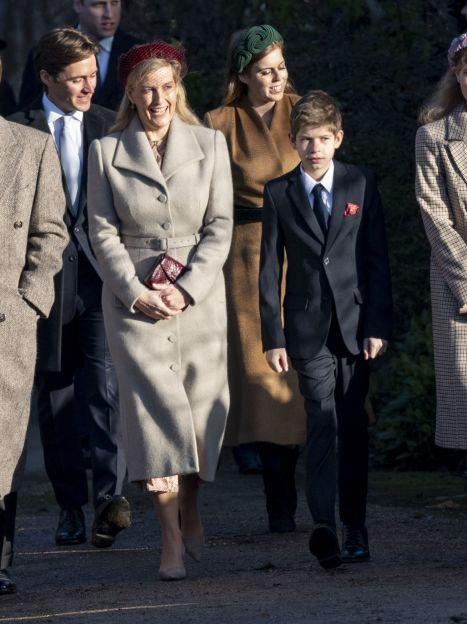Графиня Софи, принц Эдвард и их дети в Сандрингеме / © Getty Images