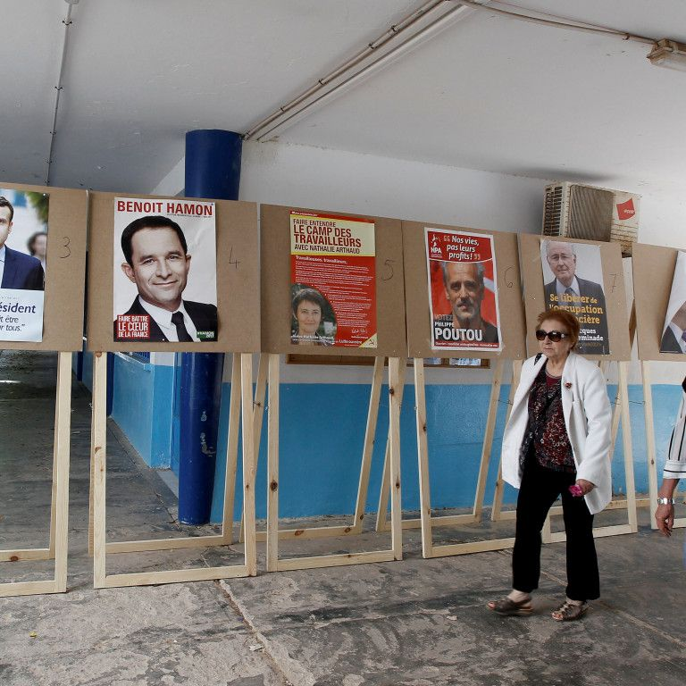 Стали известны результаты экзит-полов по выборам президента Франции