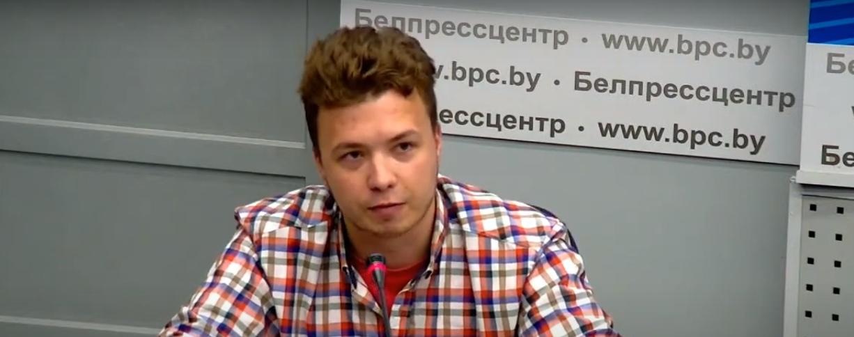 У Білорусі розповіли, за якими статтями звинувачують Протасевича і Сапегу