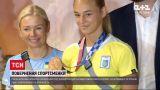 Новини України: бронзова медалістка Дар`я Білодід повернулася з Олімпійських ігор