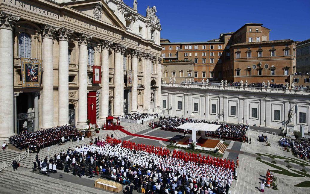 Месса в Ватикане / © Reuters