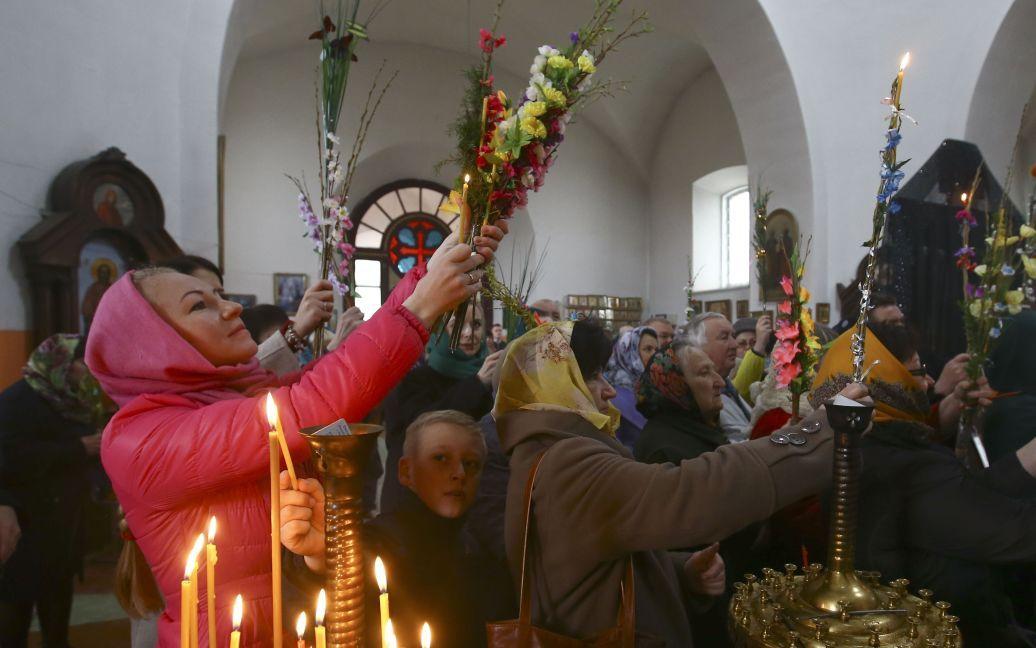 Православное служение в Ошмянах, Беларусь / © Reuters