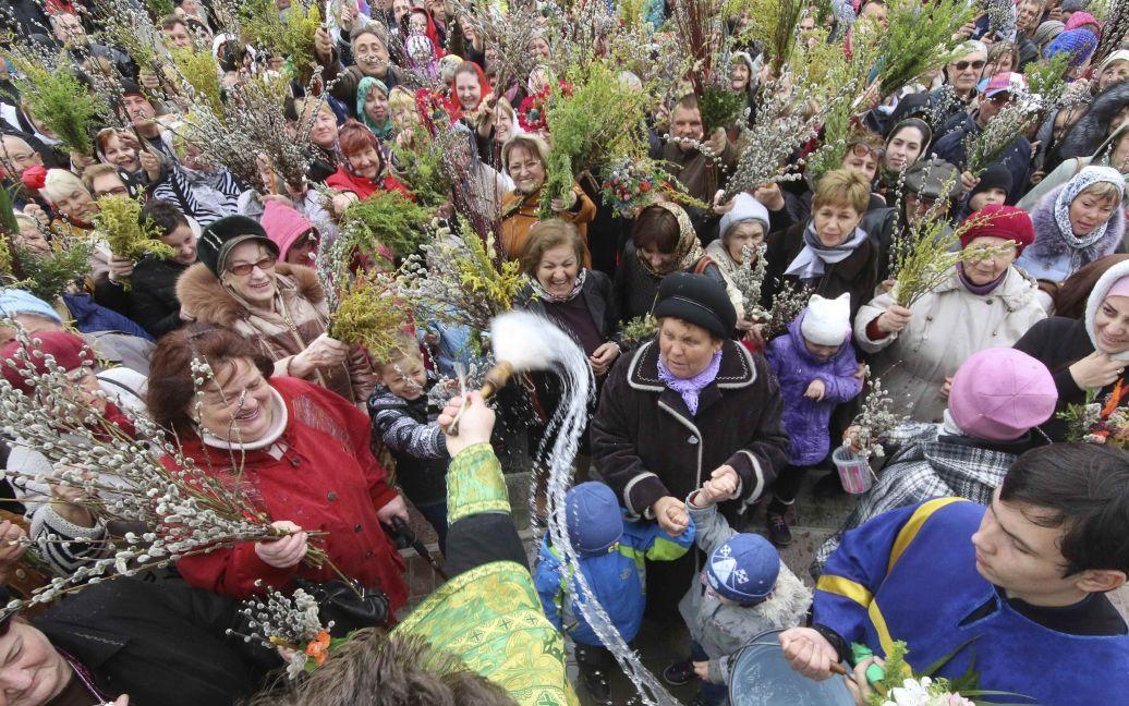 Православное служение в оккупированном Крыму (Евпатория) / © Reuters