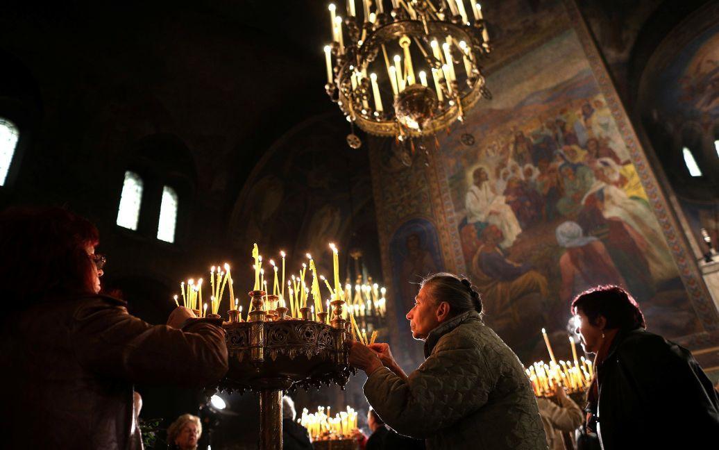 Служба в соборе Александра Невского, София, Болгария / © Reuters