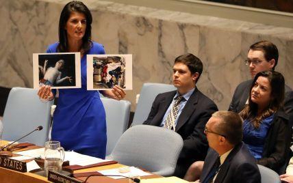 Когда Асад пересекал линию человеческой порядочности, РФ стояла рядом - постпред США в ООН
