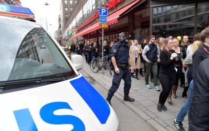 Теракт в Стокгольме: арестованный мужчина вероятно водитель грузовика, совершившего наезд — полиция