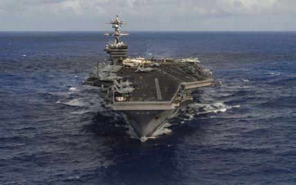 Авианосец США вместе с ударной группой приблизится к берегам Южной Кореи