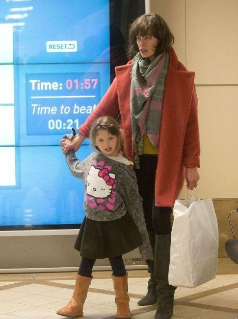 Мила Йовович со старшей дочерью Эвер / © Getty Images/Fotobank