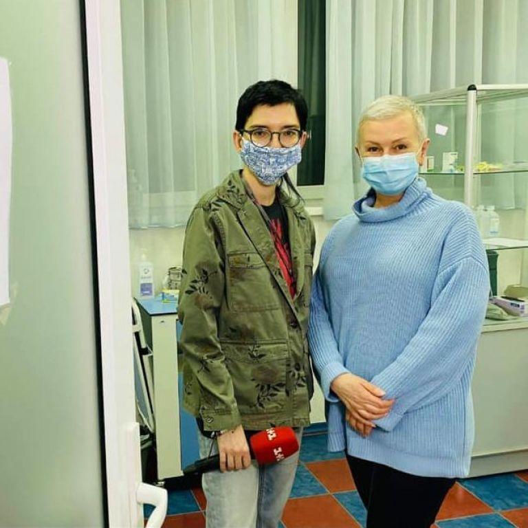 Алла Мазур, яка пройшла хіміотерапію, зробила щеплення від коронавірусу
