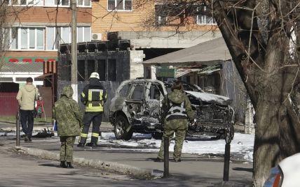 В Мариуполе попрощались с погибшим от взрыва полковником СБУ, а Порошенко наградил его посмертно
