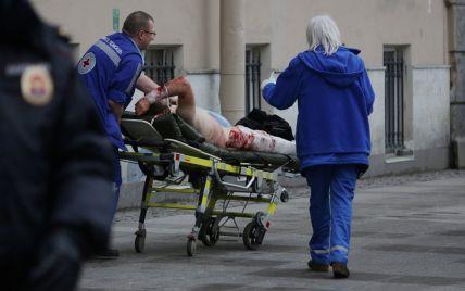У результаті вибуху в метро Петербурга загинули 14 осіб - ЗМІ