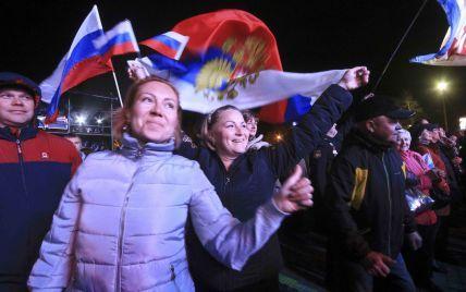 Без Путина да еще и деньги раздавали. В России устроили концерты к 3-летию аннексии Крыма