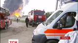 По состоянию на данный момент известно, что на нефтебазе погибли трое пожарных и двое работников