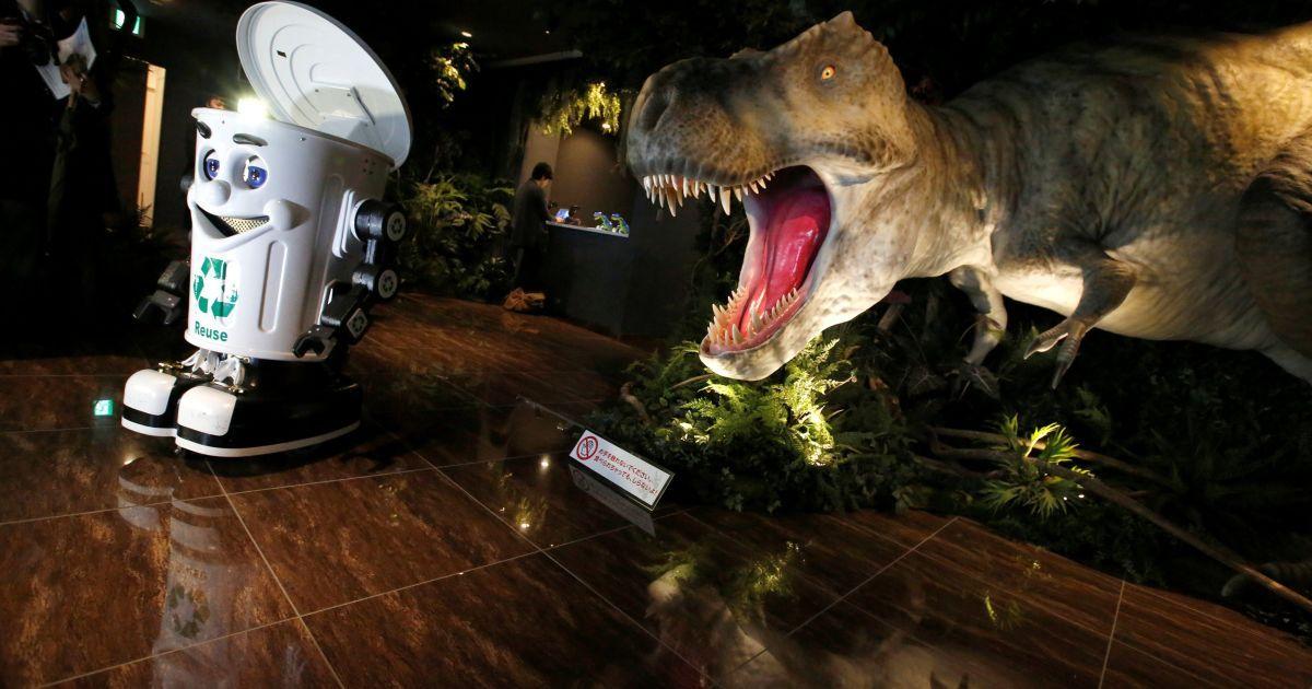 Робот-мусорник / © Reuters
