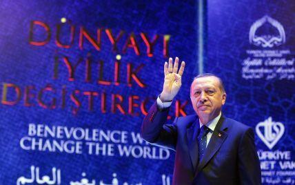 Ердоган звинуватив Захід в озброюванні всіх терористів на Близькому Сході