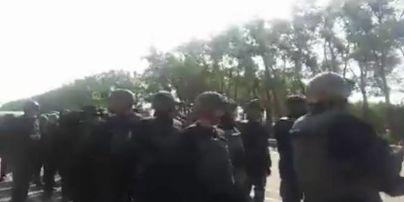 """В полиции объяснили, зачем на Житомирщине останавливали """"колонну Саакашвили"""""""
