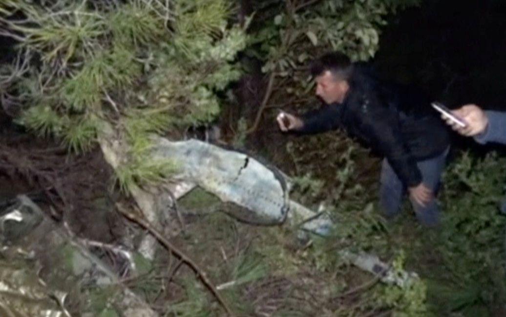Знайдені уламки літака на території Туреччини / © Reuters