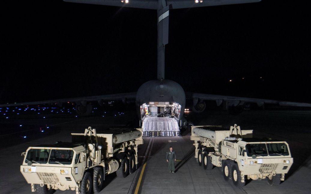 США начали развертывать ПРО THAAD в Южной Корее / © Reuters