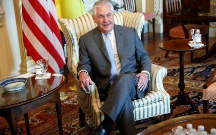Тіллерсон підтвердив прихильність США до України і запевнив у збереженні санкцій проти РФ