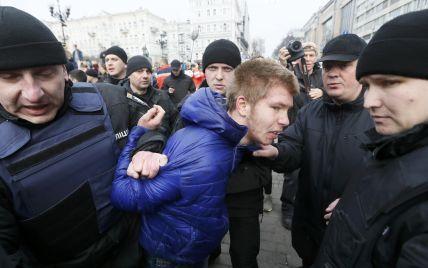Поліція відпустила хуліганів, які напали на учасниць маршу за права жінок у Києві