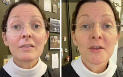"""""""Это потому, что вы жили без мужчин"""": 55-летняя монахиня с """"юным"""" лицом взорвала Сеть"""