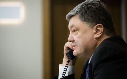 Порошенко по телефону поговорил с Дудой и осудил циничное нападение на генконсульство