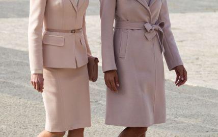 Одна другой лучше: королева Испании Летиция и первая леди Аргентины Хулиана Авада впечатлили красивыми нарядами