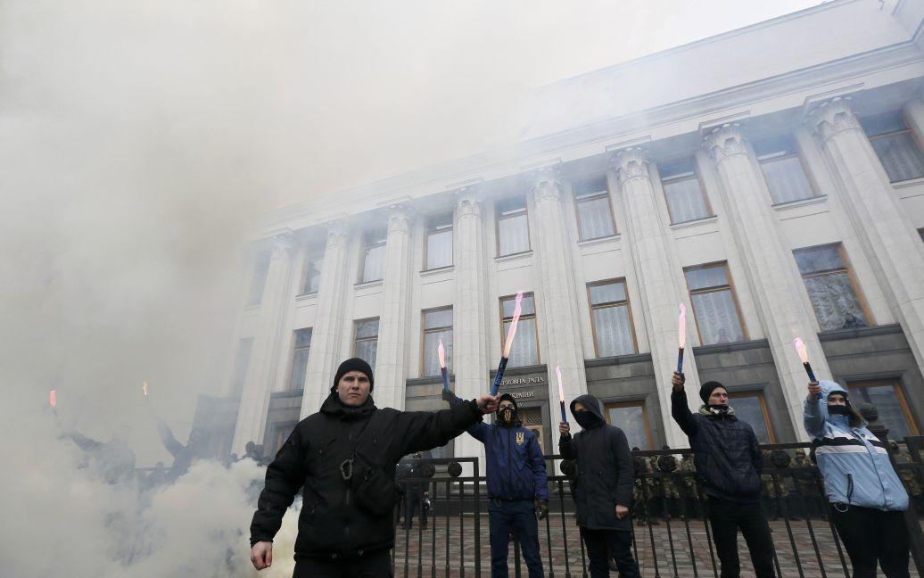 Фаєри під Радою / © Reuters